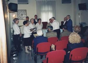 13-08-2009 coro del circolo al presidio militare di Treviso02