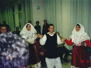 20 Febbraio 2004 gruppo Folk di Osilo (SS) a Treviso01a