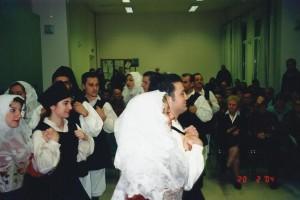20 Febbraio 2004 gruppo Folk di Osilo (SS) a Treviso01b