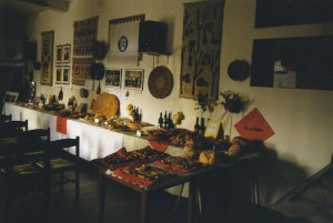 Treviso Allestimento Espositivo di Artigianato Sardo presso la sede del Circolo Amicizia Sarda nella Marca Trevigiana in Vicolo Gaspare Gozzi 7
