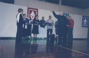 Gaiarine 18 Marzo 2007 Luciolata il coro Amicizia Sarda 02b