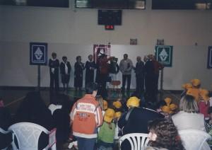 Gaiarine (TV) 18 Marzo 2007 Luciolata il coro Amicizia Sarda01a