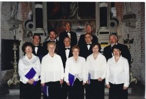 Dosson (TV) coro polifonico con membri del Circolo Sardo