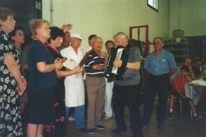 1991 coro del circolo Amicizia Sarda di Treviso