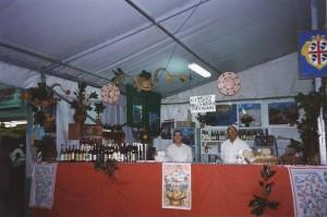 Zero Branco Stand gastronomico dei prodotti sardi alla Sagra del Peperone