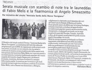 25 Ottobre 2008 serata musicale tra launeddas e fisarmonica Fabio Melis e Angelo Smeazzetto01