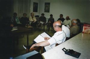 Aprile 2007 prove del coro Amicizia Sarda presso il Circolo01b