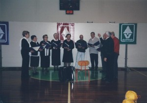 Gaiarine (TV) 18 Marzo 2007 Luciolata il coro Amicizia Sarda02