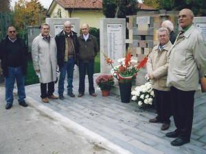Meolo (VE) 4 Novembre 2008 inaugurazione monumento ai caduti01a