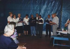 Mignagola (TV) 27-03-2007 festa dell'anziano coro del circolo01a