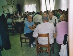 Treviso 11-10.2010 il gruppo folk di Banari (SS) a pranzo02