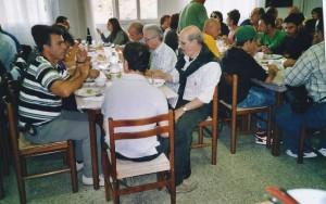 Treviso 11-10.2010 il gruppo folk di Banari (SS) a pranzo03