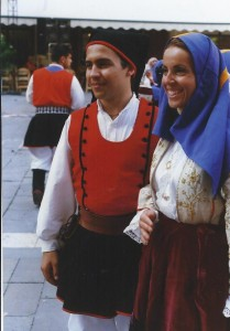 luglio 1999 Treviso gruppo folk di Usini (SS)01a