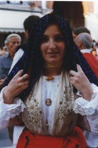 luglio 1999 Treviso gruppo folk di Usini (SS)01b