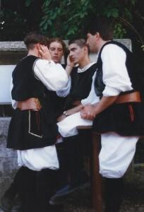 luglio 1999 Treviso gruppo folk di Usini (SS)01c
