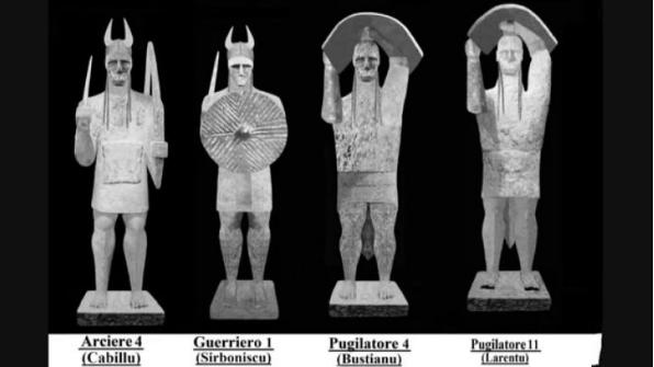 Mont'e Prama. tipologie di statue